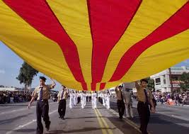 Vietnamese Freedom Flag How They Became Us Orange County Changed Forever In The 40 Years