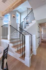 Contemporary Railings For Stairs by Best 25 Black Stair Railing Ideas On Pinterest Painted Stair