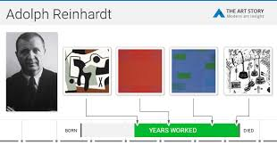Art And Design Movements Timeline Ad Reinhardt Biography Art And Analysis Of Works The Art Story