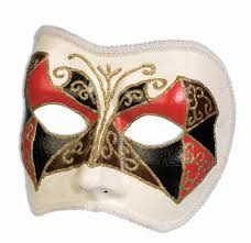 halloween village accessories masks venetian masks