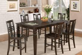 Large Round Dining Table Seats 8 Dining Room Modern Counter Height Dining Table Beautiful Tall