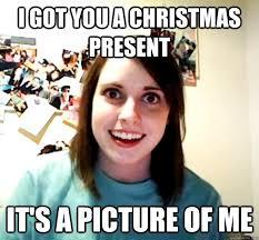 Victoria Meme - christmas presents aztecking meme center inside christmas present