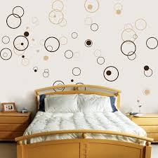Wall Decor Stickers by Circles Bubbles Set Of 72 Vinyl Wall Decals