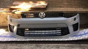 polo volkswagen sedan polo r wrc oem front bumper u2014 logbook volkswagen polo sedan