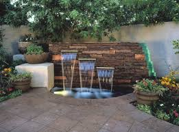 Great Backyard Ideas by Great Backyard Water Feature Designs Outdoor Ponds Water Features
