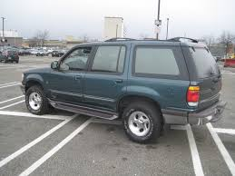 Ford Explorer Green - 1997 ford explorer review