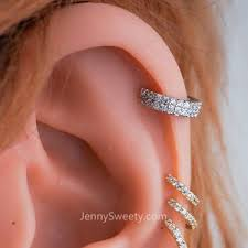 cartlidge hoop hoop cartilage helix hoop earring cartilage earring conch earring