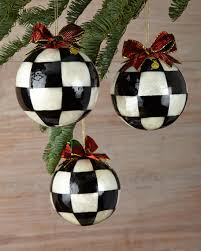 mackenzie childs jester fancy large ornaments set of 3