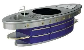 cuisine molteni cuisine en acier modulaire professionnelle avec poignées