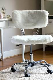 fur chair cover fur office chair office chair makeover with fur for 5 fur