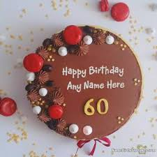 happy birthday cakes by age with name and photo