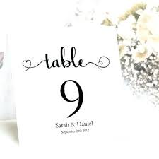 free table number templates free table number templates tent cards template table numbers