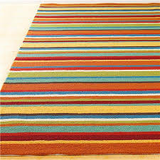 4x6 Outdoor Rug Colorful Stripe Hooked Indoor Outdoor Rug Indoor Outdoor