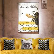 reine des abeilles wall art she who wear the crown rules the hive
