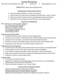 Customer Service Resumes Examples by Resume Sample Customer Service Job This Sample Resume Is In The