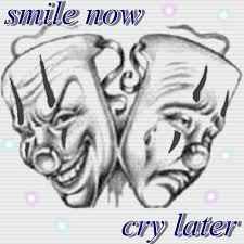 smile now mask designs photo 1 laugh now cry later