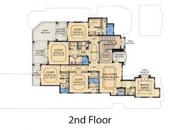 house plans with balcony mediterranean style house plan 6 beds 7 50 baths 7395 sq ft plan