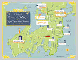 Map Me As Seen On Style Me Pretty Custom Wedding Map Blue And