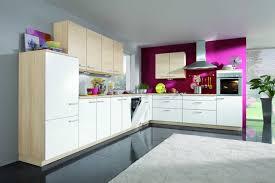 Designing Kitchen Cabinets - kitchen picturesque natural oak white painted l shaped kitchen