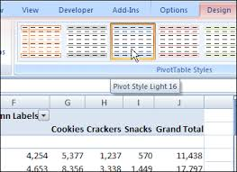 How To Remove Pivot Table Remove A Pivot Table Style In Excel 2007 Excel Pivot Tablesexcel