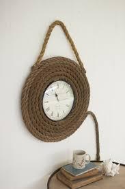 coastal decor at west end beach seaside coastal lake dock rope wall clock