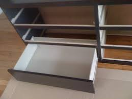 ikea malm 6 drawer drawer insertion line up wheels a u2026 flickr