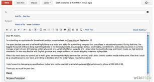 cover letter via email sending cover letter via email the letter sle