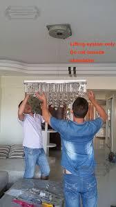 Chandelier Lifter 50kg 4m Chandelier Lift Chandelier Lowering System Lifter For