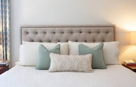 how to make an upholstered tufted headboard headboards decoration