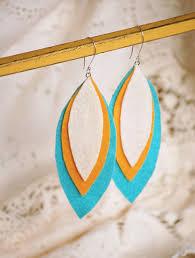felt earrings after details that make loveable journal