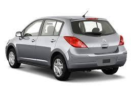 nissan versa hatchback 2011 image 2010 nissan versa 5dr hb i4 auto 1 8 s angular rear
