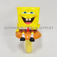 spongebob cake toppers glasshouse cakes supplies spongebob cake topper