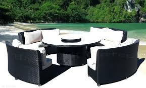 Outdoor Patio Dining Sets With Umbrella Round Outdoor Patio Furniture U2013 Bangkokbest Net