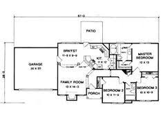 Open Plan House Plans 106 1276 Floor Plan Main Level Martis Camp Lake Tahoe