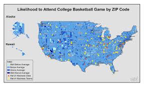 Baton Rouge Zip Code Map Mapping March Madness U2013 Pam Allison