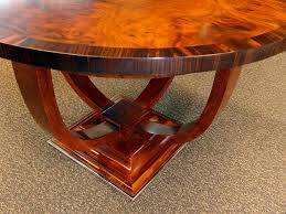 art deco round table timeless interior designer
