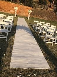 white aisle runner white carpet runner ceremony aisle runners doll bridal