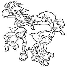 zelda coloring pages shimosoku biz