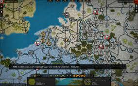 Ww2 Europe Map Strategic Command Wwii War In Europe On Steam