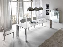 Esszimmer Glastisch Ausziehbar Cattelan Italia Ausziehbarer Esstisch Brera Weißglas Kaufen Im