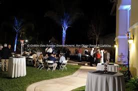 outdoor flood lighting rental for weddings u0026 events in san diego