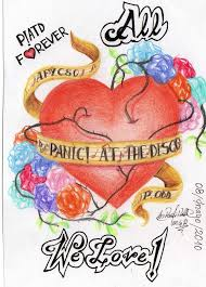 panic at the disco heart by melindaphantomhive on deviantart