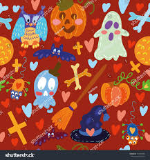 halloween repeating background patterns seamless pattern halloween seamless pattern can stock vector