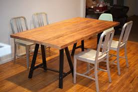 diy butcher block dining table dors and windows decoration how to clean a butcher block table home storage image of awesome diy butcher block dining table
