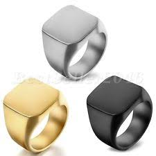 signet ring men men s signet rings ebay