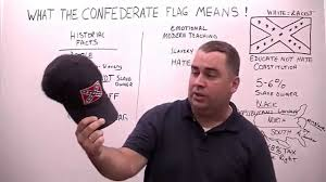 The Truth About The Confederate Flag What The Confederate Flag Means Youtube