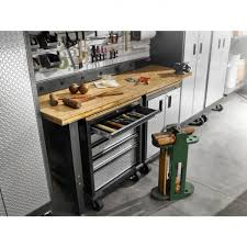 entrancing gladiator garage tool cabinets with satin anodized