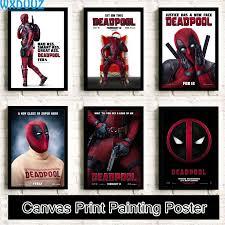 popular deadpool poster canvas buy cheap deadpool poster canvas