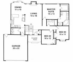 plan 1406 3 bedroom ranch w vaulted ceilings and plant shelves