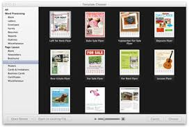 design flyer mac make a flyer in pages on the mac mactips top tips and tricks for